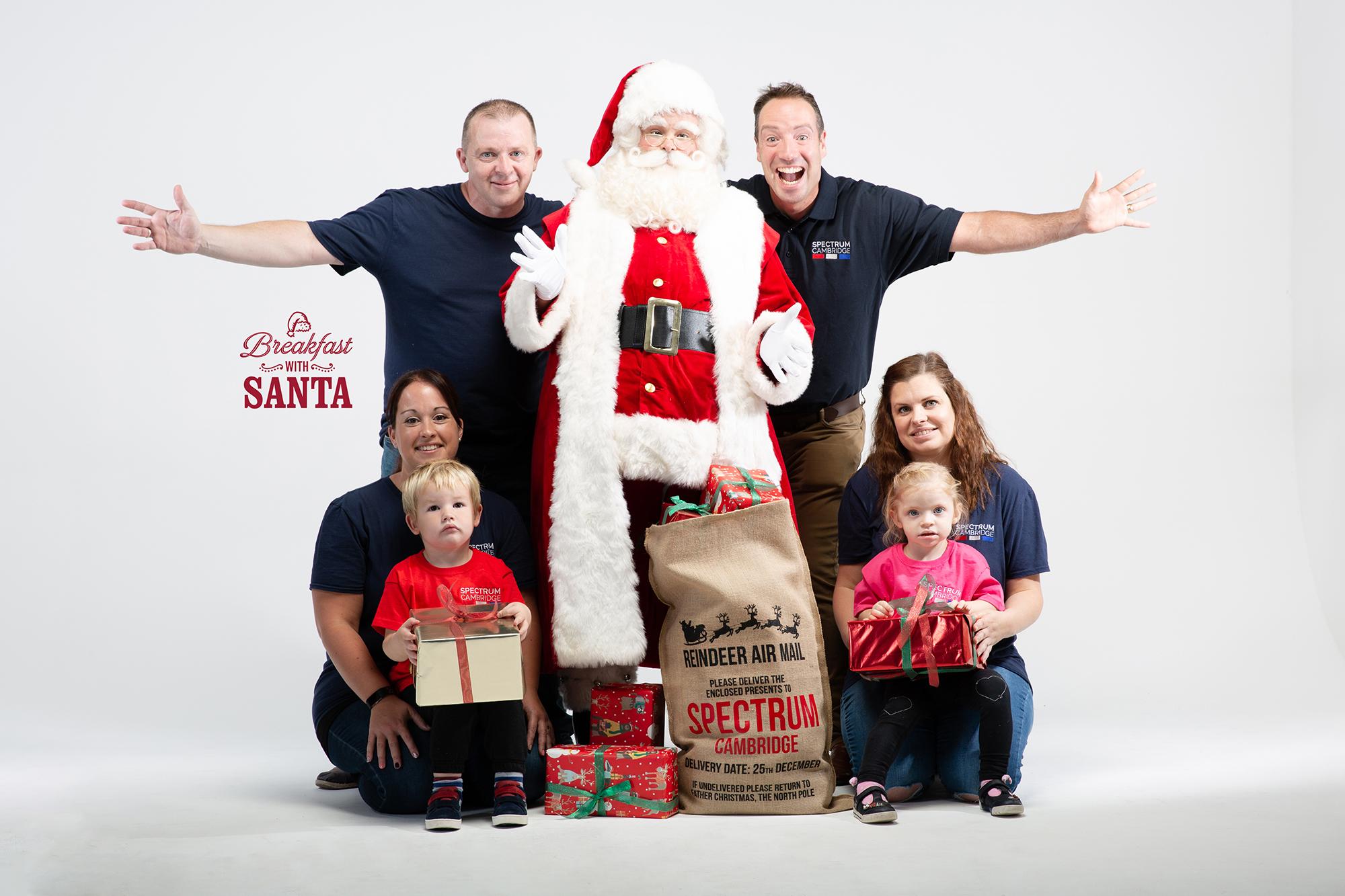 Mail On Christmas Eve 2019.Breakfast With Santa Spectrum Cambridge
