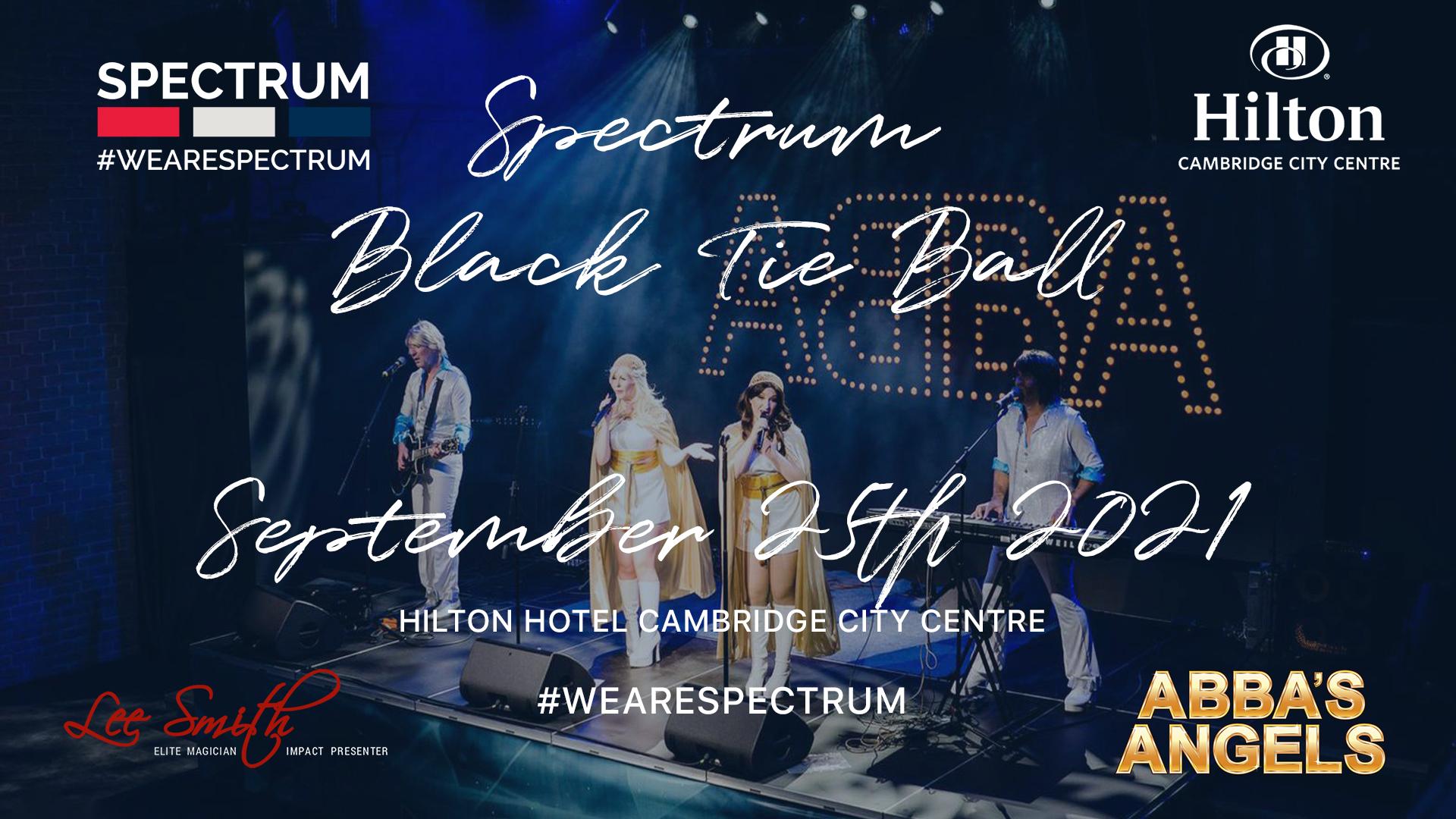 Spectrum Black Tie Ball 2021