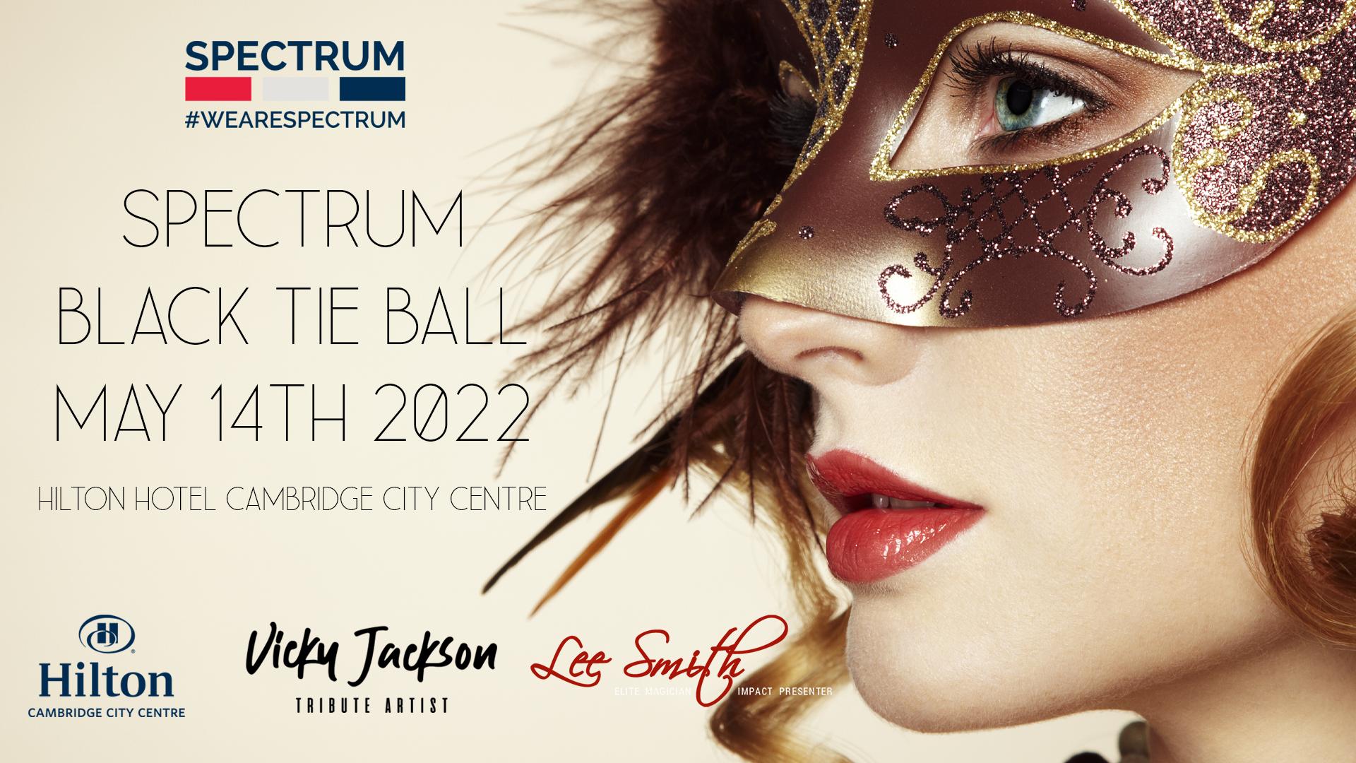 Spectrum Black Tie Ball 2022